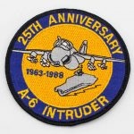 A-6 Intruder 25th Anniversary Patch