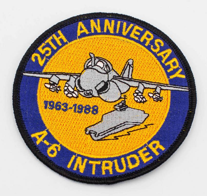 A-6 Intruder 25th Anniversary Patch