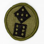 11th/XI Corps Subdued US Army Patch